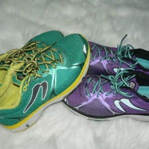 2 Pairs NEWTON Fast FATE Running Shoes Ladies 10 M